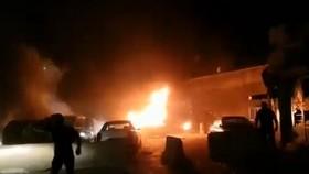敘利亞西北部城市阿薩茲(Azaz)當地時間2日晚間發生汽車自殺炸彈攻擊致19人死。(圖源:互聯網)