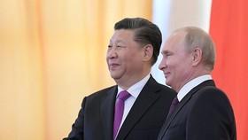 中國國家主席習近平(左)與俄羅斯總統普京。(圖源:Sputnik)