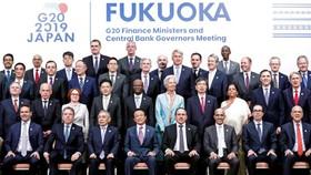 20國集團財長和央行行長會議與會者合影。(圖源:互聯網)