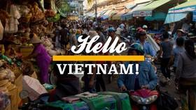 圖為平西市場旁的另一繁華街市。(圖源:Hello Vietnam)