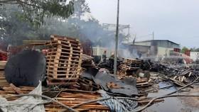 火勢撲滅後的現場。(圖源:互聯網)