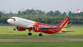 越捷航空公司的航班時刻表從昨日恢復正常飛行。(圖源:Vietjet)