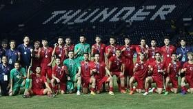 越南隊奪得2019年泰國國王盃亞軍。(圖源:互聯網)