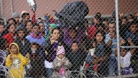 圖為美墨邊境移民。(圖源:路透社)
