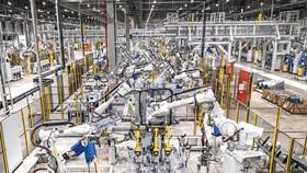 VinFast汽車廠設有1200多台自動化機械人。