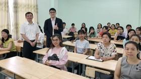 2019年越南華文教師暑期培訓班。