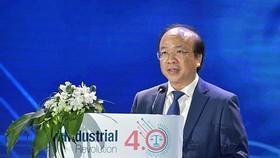 司法部副部長潘志孝在開幕儀式上致詞。(圖源:英芳)