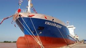 圖為 Vinashin Orient 貨船。(圖源:互聯網)