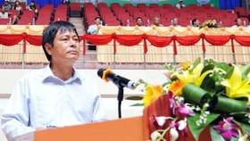 清化省文體旅遊廳原副廳長黎文南。(圖源:勞動報)