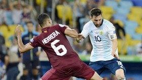 阿根廷以2比0擊敗委內瑞拉,晉級4強,將對巴西。(圖源:互聯網)