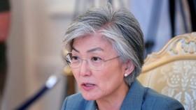 韓國外長康京和。(圖源:路透社)