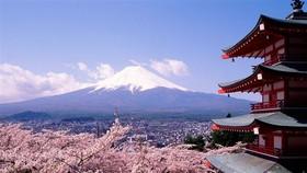 近幾年來越南成為日本旅遊業的重要夥伴,赴日旅遊的越南遊客量不斷增加。圖為日本美景富士山一瞥。(示意圖源:互聯網)