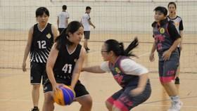 初中-高中女子組比賽一瞥。