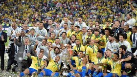 巴西隊奪得冠軍。(圖源:互聯網)