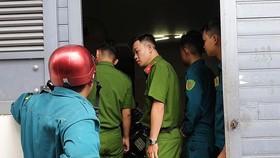 職能力量趕抵案發現場進行勘查。(圖源:PLO)