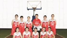 代表越南參加東南亞學生籃球賽成員。