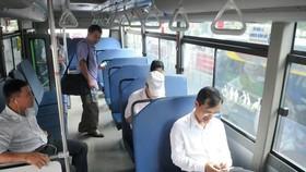 巴士乘客越來越少。