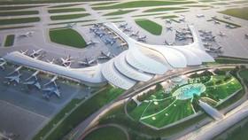 隆城機場配景圖。(圖源:互聯網)