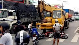今年上半年,全市發生了1669起交通事故,導致304人死亡和1147人受傷。(示意圖源:互聯網)
