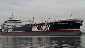 """遭伊朗扣押的英國籍油輪""""史丹納帝國""""號。(圖源:互聯網)"""