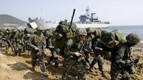 韓美下月初將舉行為期約3周的聯合軍演。(示意圖源:互聯網)