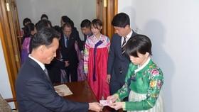 朝鮮選民參與投票。(圖源:韓聯社/朝中社)