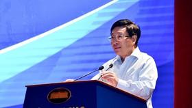 外交部長范平明在會上發表指導意見。(圖源:俊英)