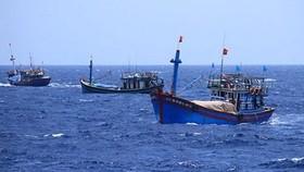 我國漁民的漁船在傳統水域上作業。(圖源:文東)