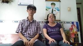 阮智南渴望有錢醫病和上學。