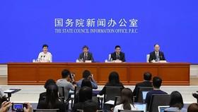 7月31日,中國國務院新聞辦公室召開中國-東盟(東協)經貿合作情況暨第十六屆中國-東盟博覽會、中國-東盟商務與投資峰會新聞發佈會。(圖源:中國網)