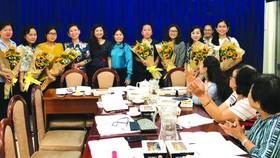 第五郡婦聯會於昨(1)日上午在郡祖國陣線委員會會場舉辦2019年郡婦聯會小結會議。