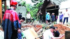 清化省是颱風損失最嚴重省份。(圖源:互聯網)