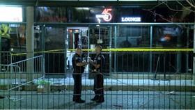 警方封鎖案發現場。(圖源:cbc.ca)
