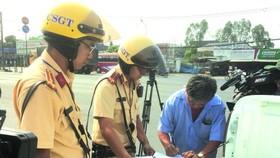 以後交警不用上街巡邏處罰違反交規者。(圖源:互聯網)