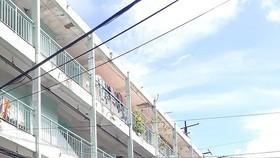 阮善術公寓是第三郡主張招商引資重建的公寓之一。