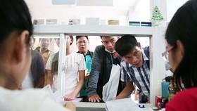 學生在本市一所私立大學提交登記入讀審核。