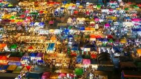 泰國曼谷Ratchada夜市。(圖源:互聯網)