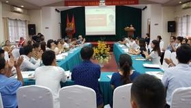 面向農村創新與可持續發展社會企業扶助項目研討會。(圖源:VOV)