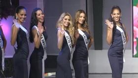 """參加""""2019年委內瑞拉小姐""""中佳麗。"""