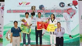 峴港市國家訓練中心代表團奪得專業組團體一等獎。(圖源:互聯網)