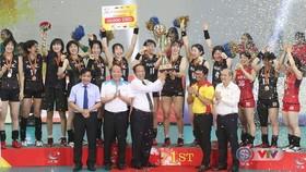 日本NEC隊以3比1戰勝越南隊奪冠。(圖源:互聯網)