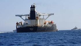 英國海外領地直布羅陀最高法14日宣佈放行超級油輪Grace 1。(圖源:路透社)