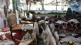 自殺式炸彈襲擊阿富汗喀布爾婚禮會場 63死180傷。(圖源:AFP)
