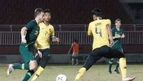 澳大利亞隊與馬來西亞隊比賽。(圖源:互聯網)
