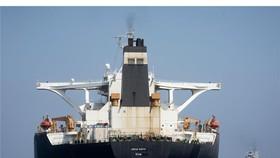 伊朗油輪離開直布羅陀,駛向希臘。(圖源:AP)