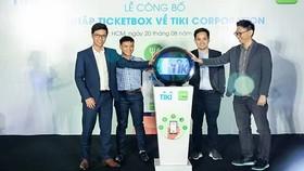Ticketbox與Tiki合拼儀式。(圖源:鄭宇)