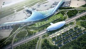 隆城機場項目總體配景圖。(圖源:互聯網)