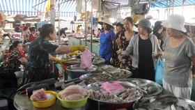 阮文追街市的買賣情況。