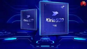 中國華為公司當日在IFA展上首次推出新一代旗艦手機芯片麒麟990系列。(圖源:互聯網)