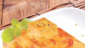 水晶桂花糕做法